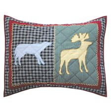 Winter North Woods Pillow Sham