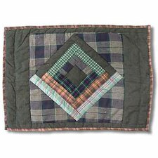 Green Log Cabin Placemat (Set of 4)