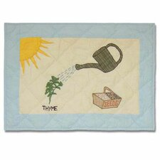 Herb Garden Placemat (Set of 4)