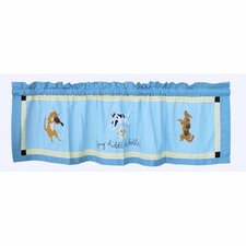 Hey Diddle Diddle Cotton Curtain Valance