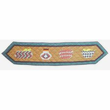 Indian Baskets Table Runner