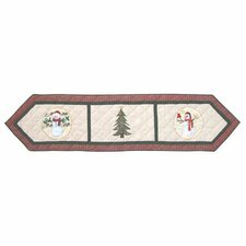 Jolly Snowmen Table Runner