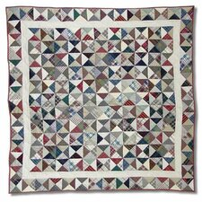 <strong>Patch Magic</strong> Kaleidoscope Cotton Throw Quilt
