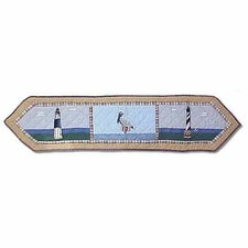 Lighthouse By Bay Table Runner