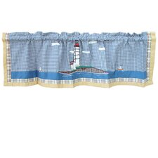 Lighthouse By Bay Cotton Curtain Valance