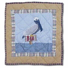 Lighthouse by Bay Pelican Toss Pillow