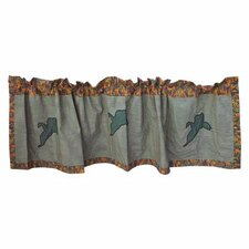 <strong>Patch Magic</strong> Mallard Cotton Curtain Valance