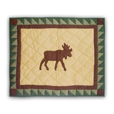 Moose Trail Standard Pillow Sham
