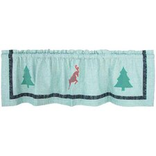 "North Pole Fish Tales 54"" Curtain Valance"
