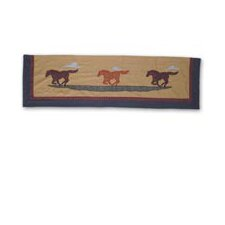 "Shadow Rider 54"" Curtain Valance"