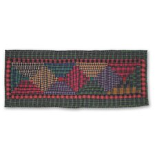 Tartan Log Cabin Table Runner