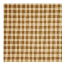 <strong>Patch Magic</strong> Brown and Golden Checks Toss Pillow