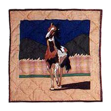 Wild Horses Toss Pillow