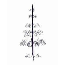 <strong>Patch Magic</strong> 7' Black Artificial Christmas Tree