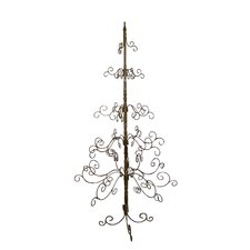 7' Gold Artificial Christmas Tree