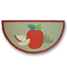Apple Cart Fire Place Kids Rug