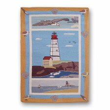 Lighthouse By Bay Kids Rug