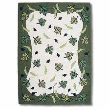 Spring Leaves Kids Rug