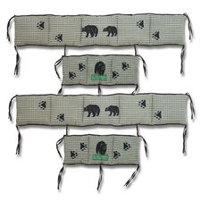 Bear Country 4 Piece Bumper Pad Set