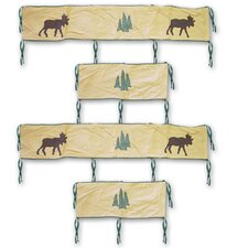 Cedar Trail 4 Piece Bumper Pad Set