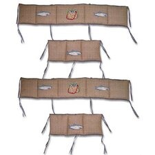 Gone Fishing 4 Piece Bumper Pad Set