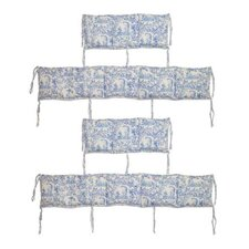 <strong>Patch Magic</strong> Somerset Cottage 4 Piece Bumper Pad Set