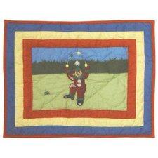 Circus Cotton Crib Toss Pillow