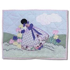 Sundress Cotton Crib Toss Pillow