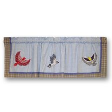 "Songbirds 54"" Curtain Valance"