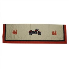 "Motor Cycle 54"" Curtain Valance"