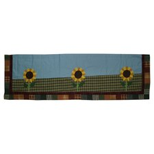 <strong>Patch Magic</strong> Sun Burst Cotton Curtain Valance