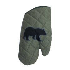 Bear Trail Oven Mitt