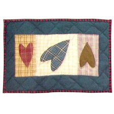 Primitive Heart Place Mat (Set of 4)