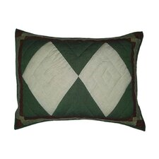 Bear Trail Patch Work Pillow Sham
