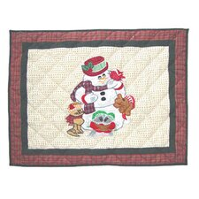 Jolly Snowmen Pillow Sham