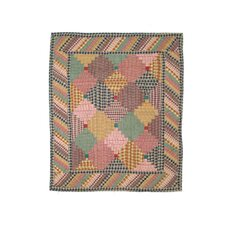 <strong>Patch Magic</strong> Harvest Log Cabin Cotton Crib Quilt
