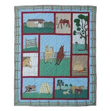 <strong>Patch Magic</strong> Horse Quilt