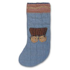 Cowboy Wagon Stocking