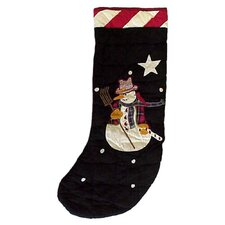 Frosty Snowman Stocking