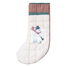 Jolly Snowmen Stocking