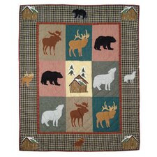 <strong>Patch Magic</strong> Winter Trails Cotton Throw