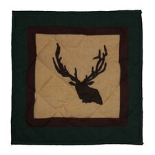 Elk Trail Cotton Toss Pillow