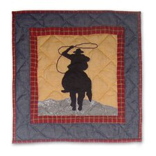 Shadow Rider Cotton Toss Pillow