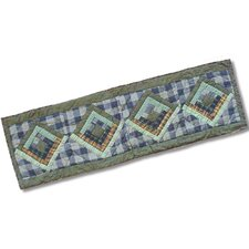 Log Cabin Table Runner