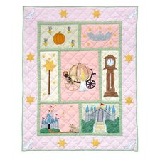 <strong>Patch Magic</strong> Fairy Tale Princess Cotton Throw