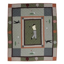 <strong>Patch Magic</strong> Golfer's Trail Cotton Throw