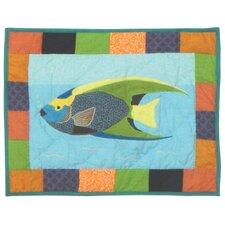 <strong>Patch Magic</strong> Ocean Schools Cotton Crib Pillow