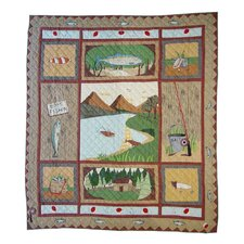 Gone Fishing Quilt Collection