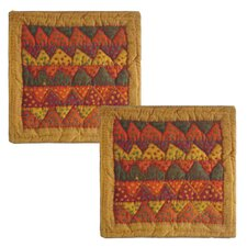 <strong>Patch Magic</strong> Majestic Cotton Toss Pillow (Set of 2)