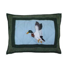 Mallard Cotton Crib Pillow